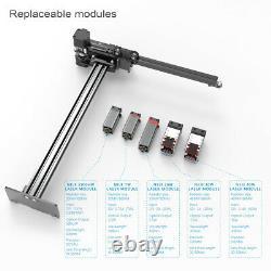 Nouveau Neje Master 2s Plus 30w Cnc Graveur Laser Cutting Machine Coupeur 32bit Mcu