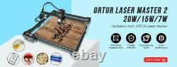 Ortur Laser Master 2 Machine De Découpe À Gravure Laser Avec Carte Mère 32 Bits