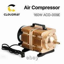 Pompe À Air Comprimé Électrique À Air Comprimé De 160w Pour La Découpe Au Laser Co2