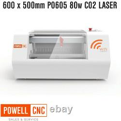 Powell P0605 80w Co2 Laser Gravure Et Machine De Coupe