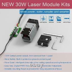 Tête Laser De Haute Puissance Pour Couper Le Métal Cnc Gravure Module Machine 30with40w Nouveau