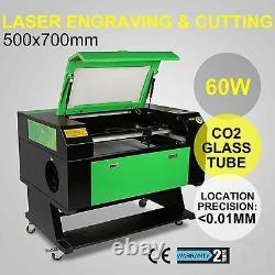 Tout Nouveau 60w Usb Laser Gravure Machine De Coupe 700x500mm Bois Graveur Grande