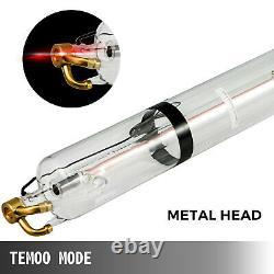 Tube Laser Co2 Vevor 100w 1430mm Pour Machine De Marquage À Gravure Laser
