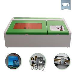 Usb 40w Co2 Gravure Laser Tailleur Coupeur Coupeur Bois Travail/artisanat