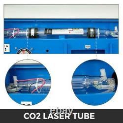 Vevor 40w Co2 Laser Graveur Cutter Gravure Machine De Coupe 300x200mm Avec Roues