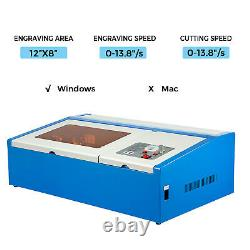 Vevor Co2 Usb 40w Graveur Laser Cutter 30x20cm Gravure Machine De Coupe Bois