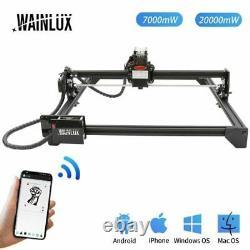 Wainlux Laser Master 2 Laser Gravure Cutting Machine 32bit Motherboard 20w